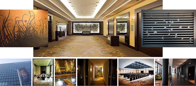 wetterschutz f r das hyatt hotel d sseldorf mll hamburg. Black Bedroom Furniture Sets. Home Design Ideas